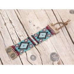 Blue Sky Beads Loom Bracelets For Woman