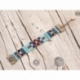 Blue Beads Loom Bracelets For Woman