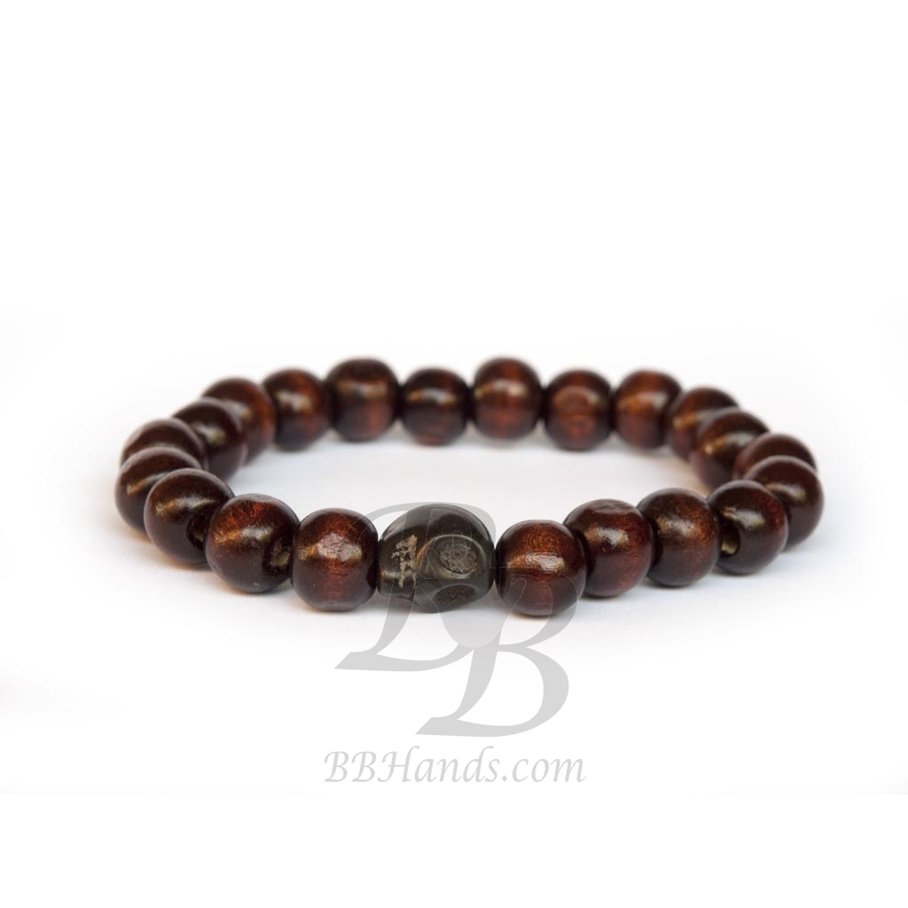beaded mala mens wood bracelet product bead pillow wooden