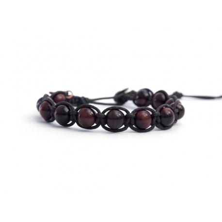 Red Tiger Eye Tibetan Bracelet For Woman