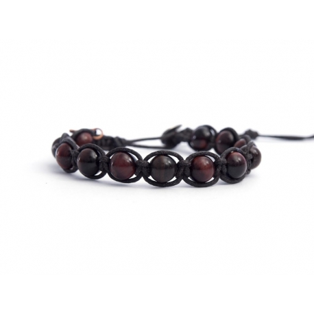 Red Tiger Eye Tibetan Bracelet For Man