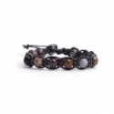 Piersite Beaded Tibetan Bracelet For Woman