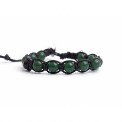 Bracciale tibetano avventurina verde