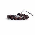 Mahogany Obsidian Tibetan Bracelet For Woman