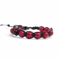 Cherry Agate Tibetan Bracelet For Man
