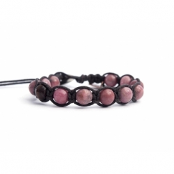 Rhodonite Tibetan Bracelet For Man