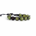 Green Aventurine Tibetan Bracelet For Woman