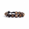 Picture Diaspro Beaded Tibetan Bracelet For Man