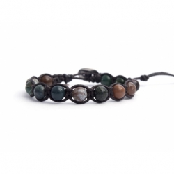 Indian Agate Tibetan Bracelet For Woman