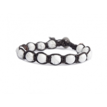 Howlite Tibetan Bracelet For Man