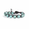 Turquoise Paste Tibetan Bracelet For Woman