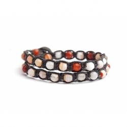 Carnelian Tibetan Bracelet For Woman