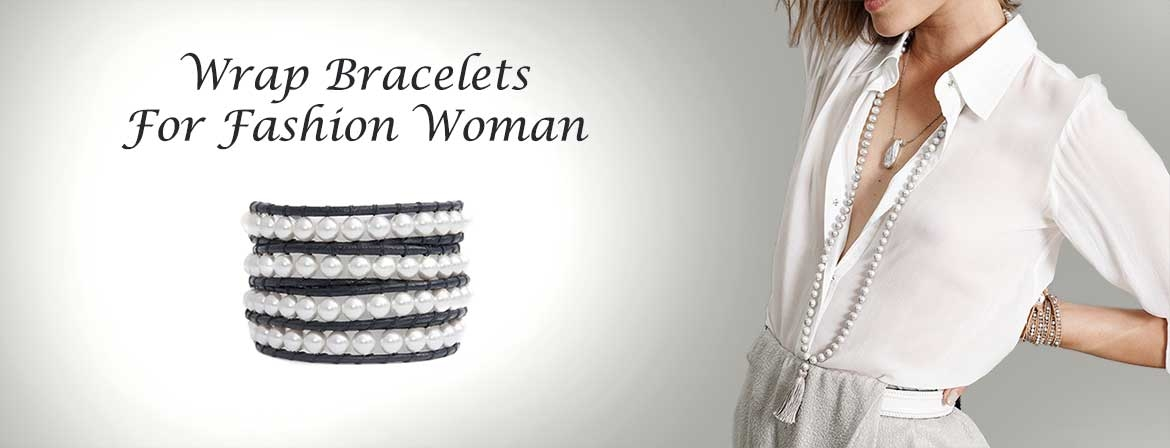 Wrap Swarovski Bracelets for Woman