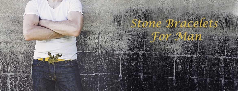Bracciale uomo Stone