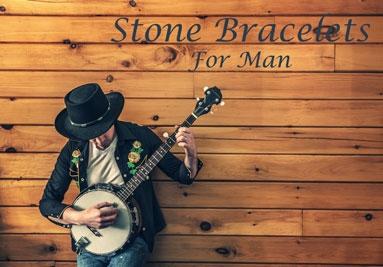Stone Bracelets For Man